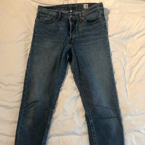 Levi's Wedge Fit Jeans - White Oak Cone Denim